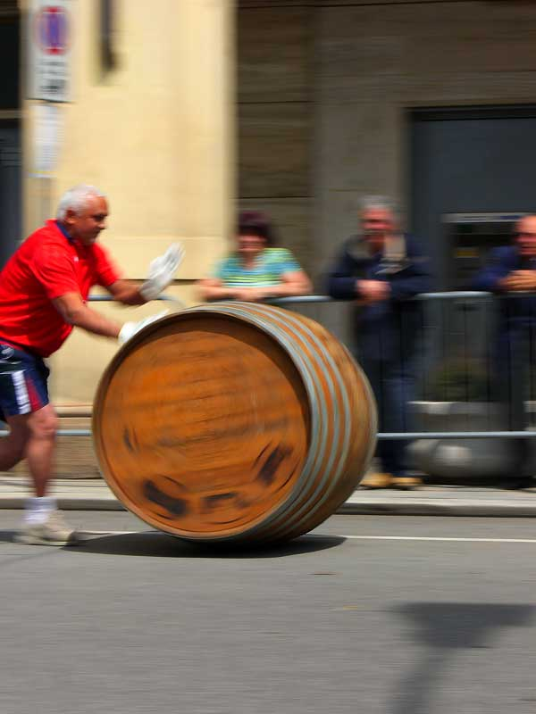 barrel racing in Nizza